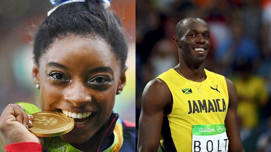 Jornal elege Bolt e Biles como melhores atletas do ano