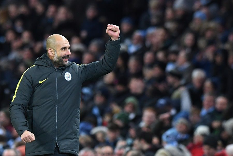City de Guardiola está em terceiro no Inglês - Anthony Devlin/Reuters