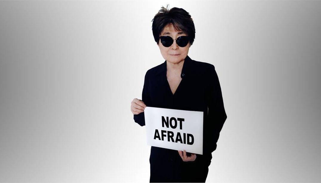 Yoko Ono convoca brasileiras a enviarem relatos de violência