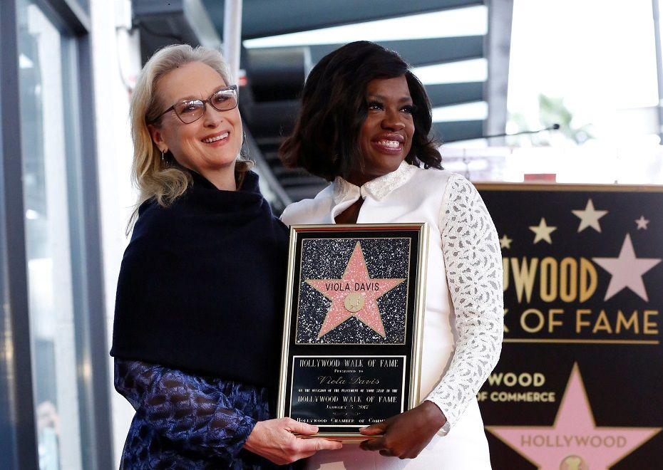 Viola Davis elogia Meryl Streep: É minha amiga