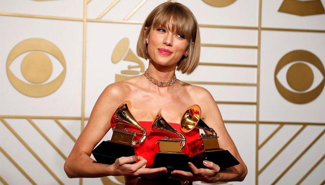 Discurso de Taylor Swift no Grammy é usado em campanha do prêmio