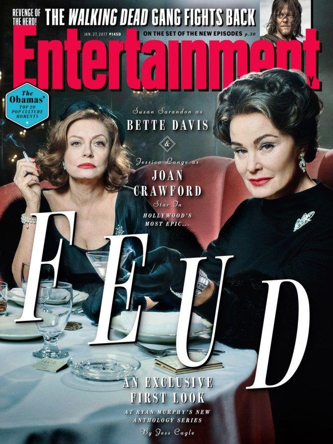 Jessica Lange e Susan Sarandon aparecem em primeira foto de Feud