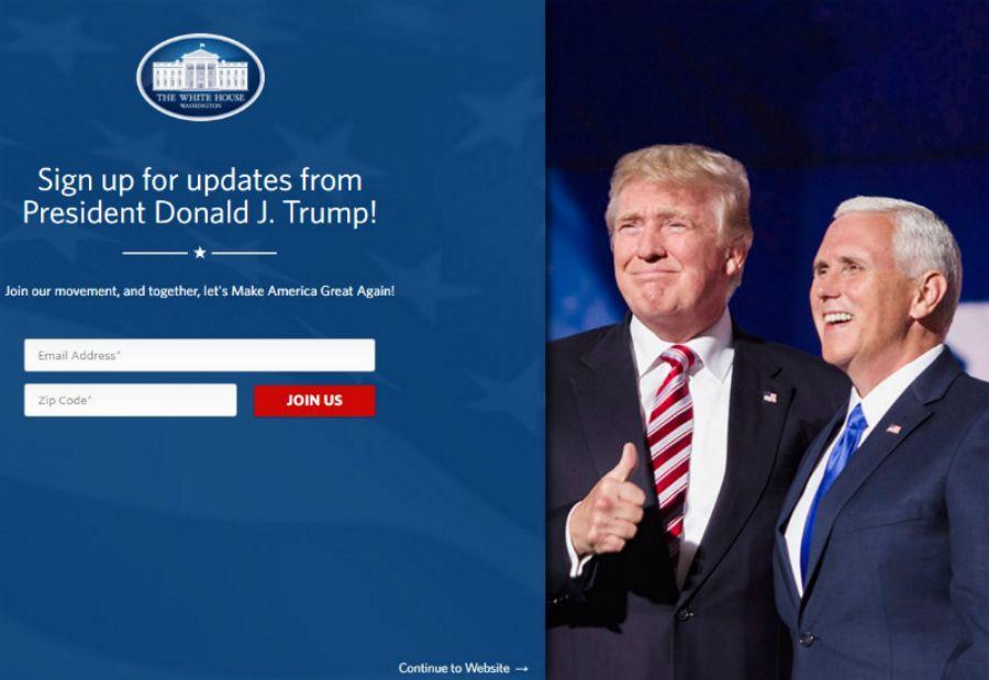 Site da Casa Branca elimina seções sobre clima e direitos civis e LGBT