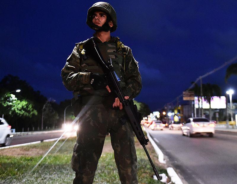 Forças Armadas começam a reforçar segurança em Natal