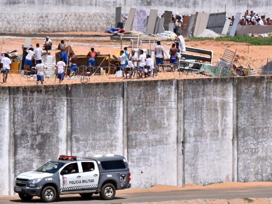 RN: Agentes impedem tentativa de fuga em Alcaçuz