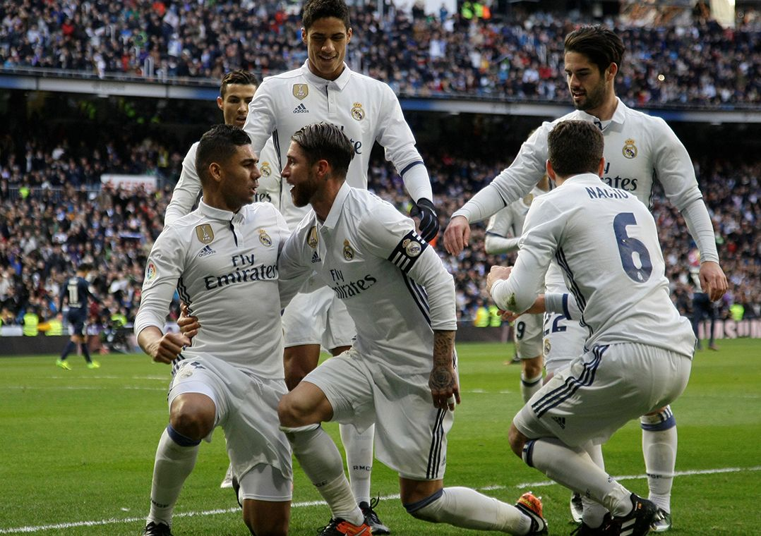 Sergio Ramos garante vitória do Real Madrid no Espanhol