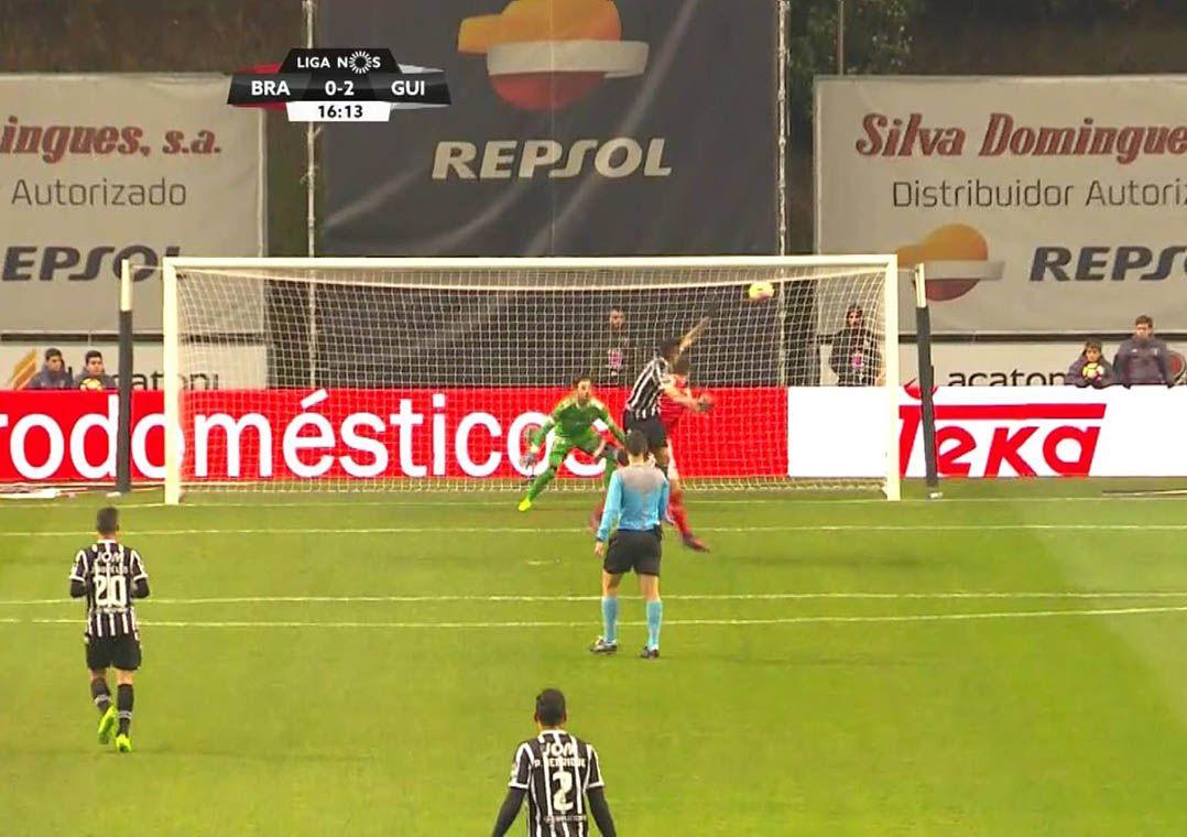 Vitória de Guimarães derrota Braga no Português
