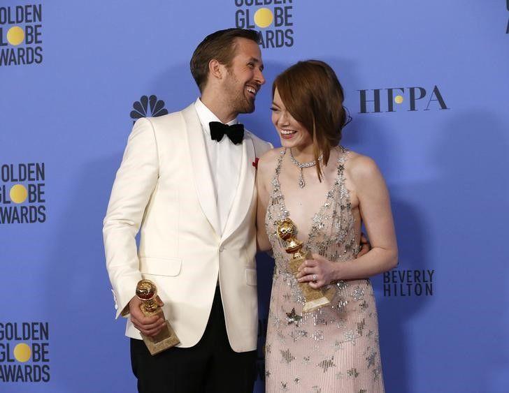 Ryan Gosling e Emma Stone, estrelas de