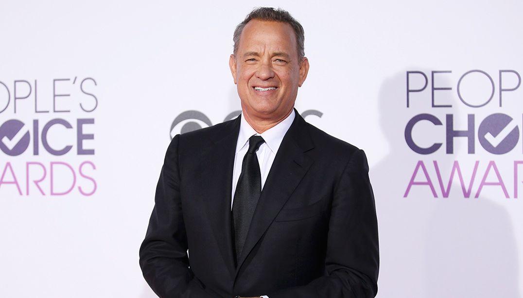 Tom Hanks envia presente a jornalistas na Casa Branca