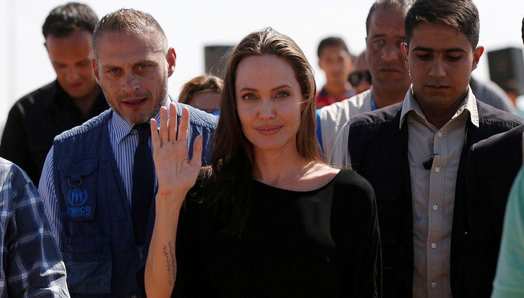 Angelina Jolie critica restrições de viagem de Donald Trump