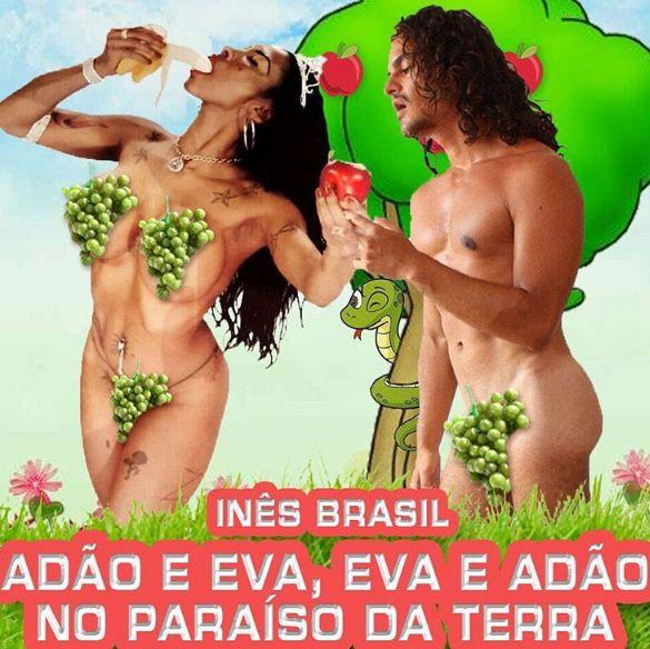 Inês Brasil apresenta hit com temática religiosa
