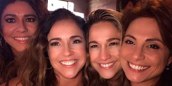 Fernanda Gentil, namorada e Daniela Mercury