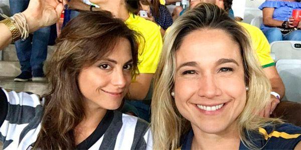 Priscila Montadon e Fernanda Gentil