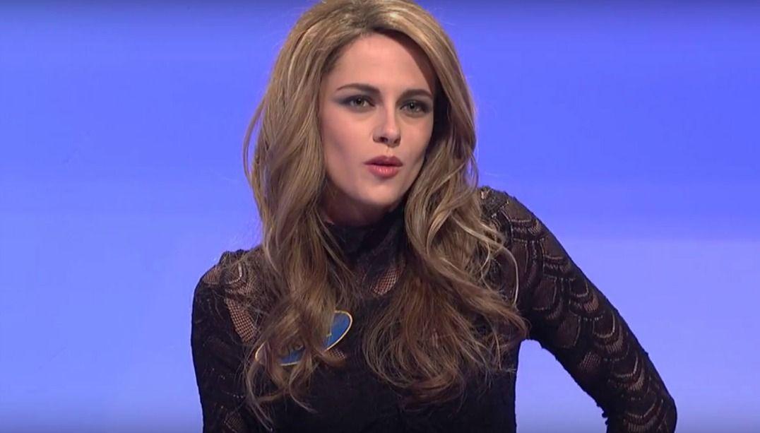 Kristen Stewart faz imitação de Gisele Bündchen; veja