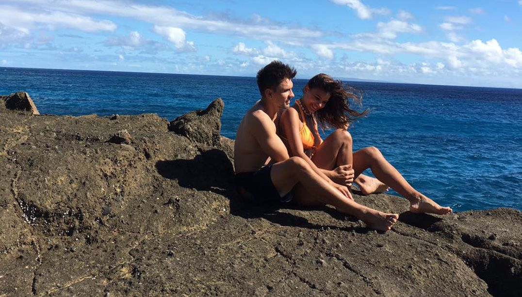 Paulo André e Jakelyne estão juntos há um ano