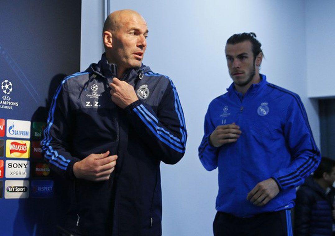 Zidane havia afirmado que o Real Madrid não apressaria a recuperação de Bale / Reuters/Jason Cairnduff/Livepic