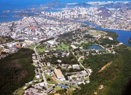 Vista do campus Goiabeiras, em Vitória / Divulgação/Ufes