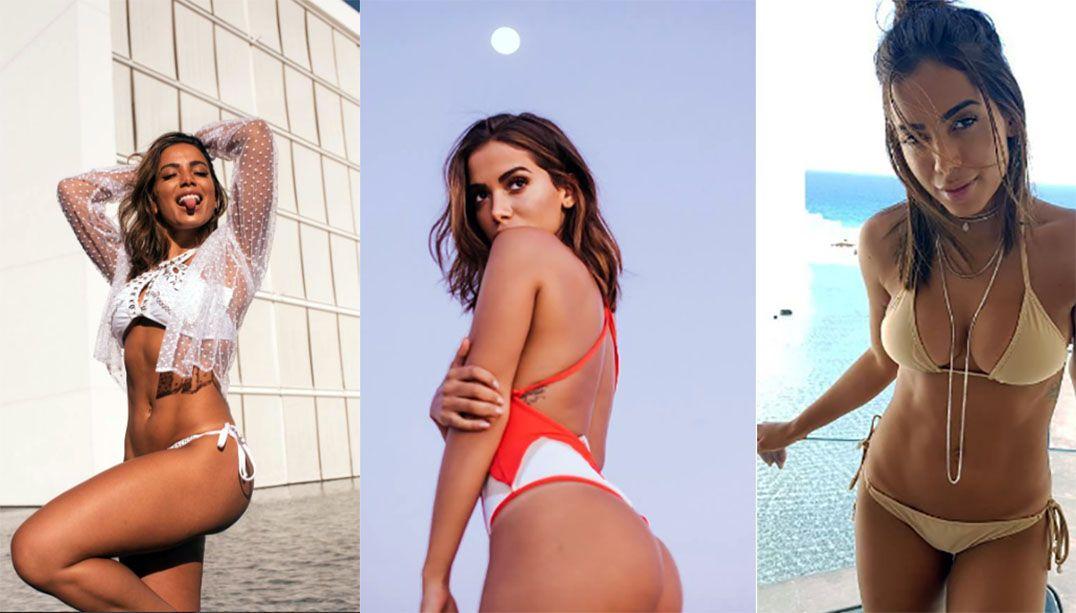 Anitta e seu jeitão sincero; confira cinco momentos