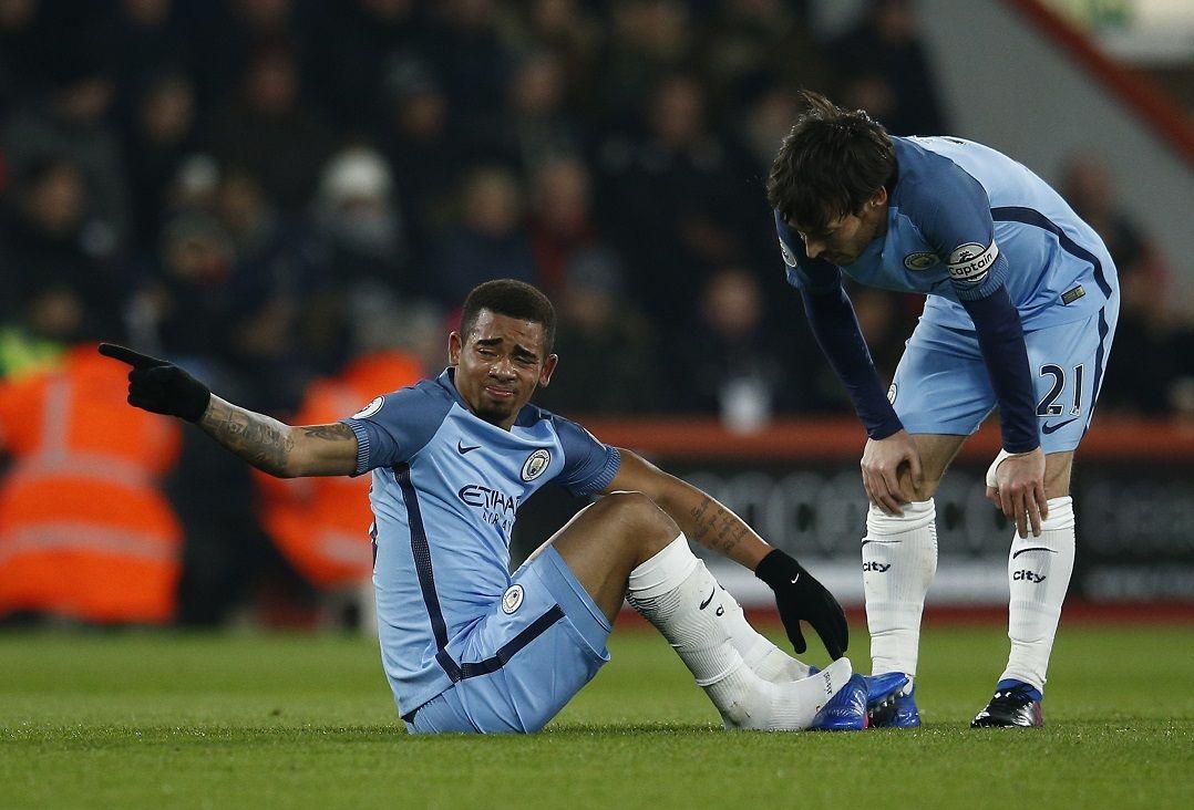 Gabriel Jesus também será desfalque em duas partidas da Seleção pelas Eliminatórias /  Peter Nicholls/Reuters