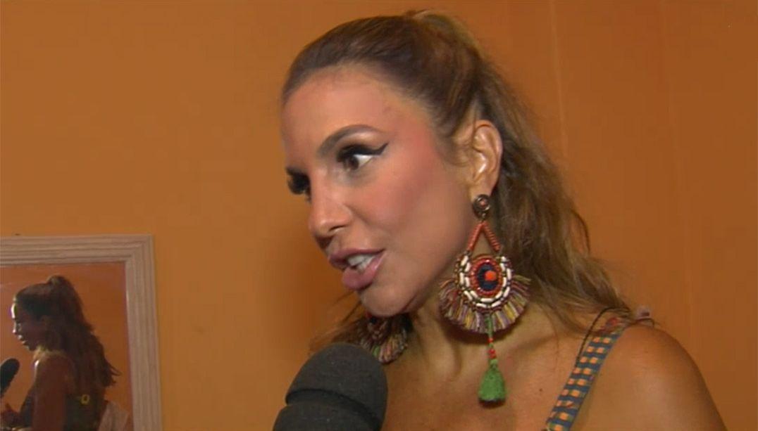 Ivete Sangalo participa de encontro com Margareth Menezes