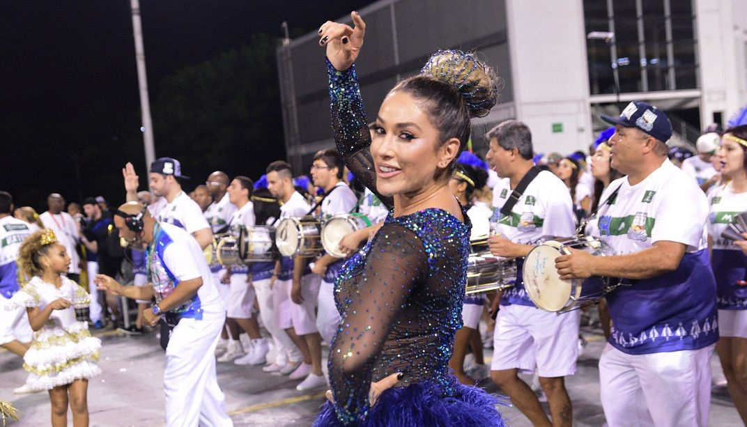 Dani Bolina acha samba-enredo polêmico positivo para o Carnaval