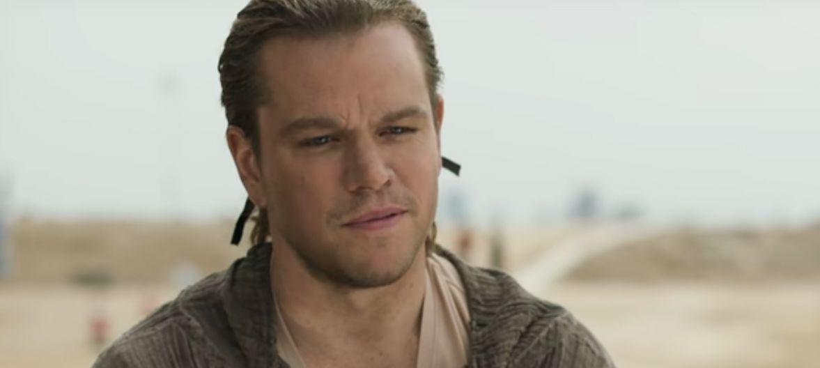 Ninho de rato, diz Matt Damon sobre aplique de cabelo