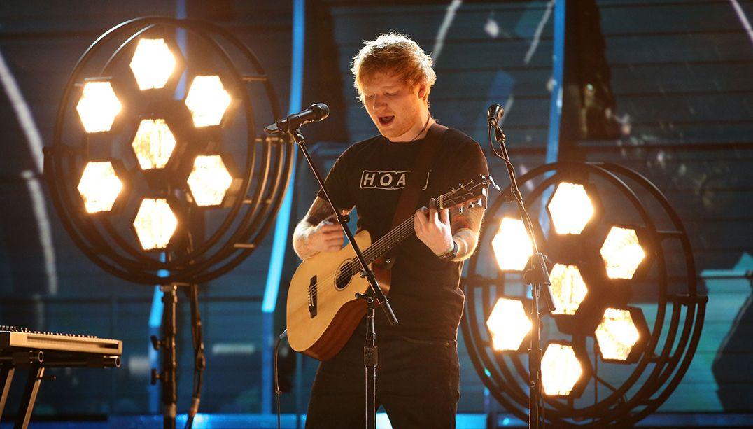 Ed Sheeran diz que foi barrado em festa do Grammy