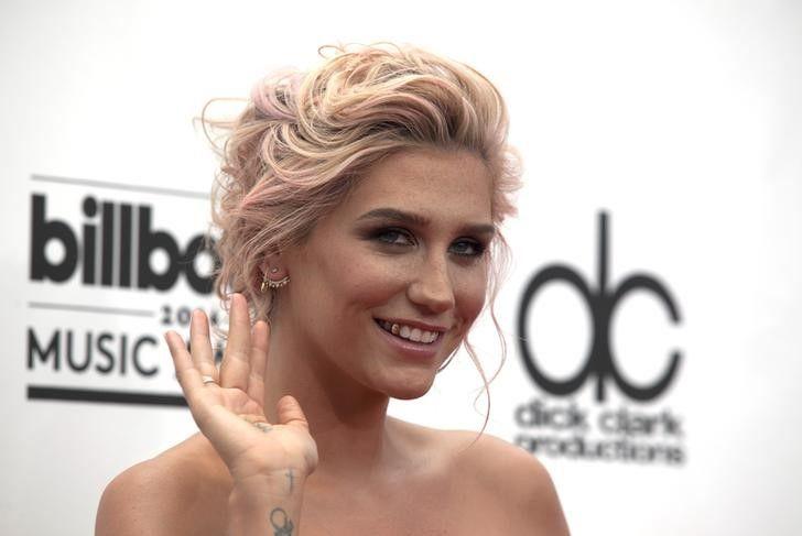 Kesha durante evento em Las Vegas / L.E. Baskow/Reuters