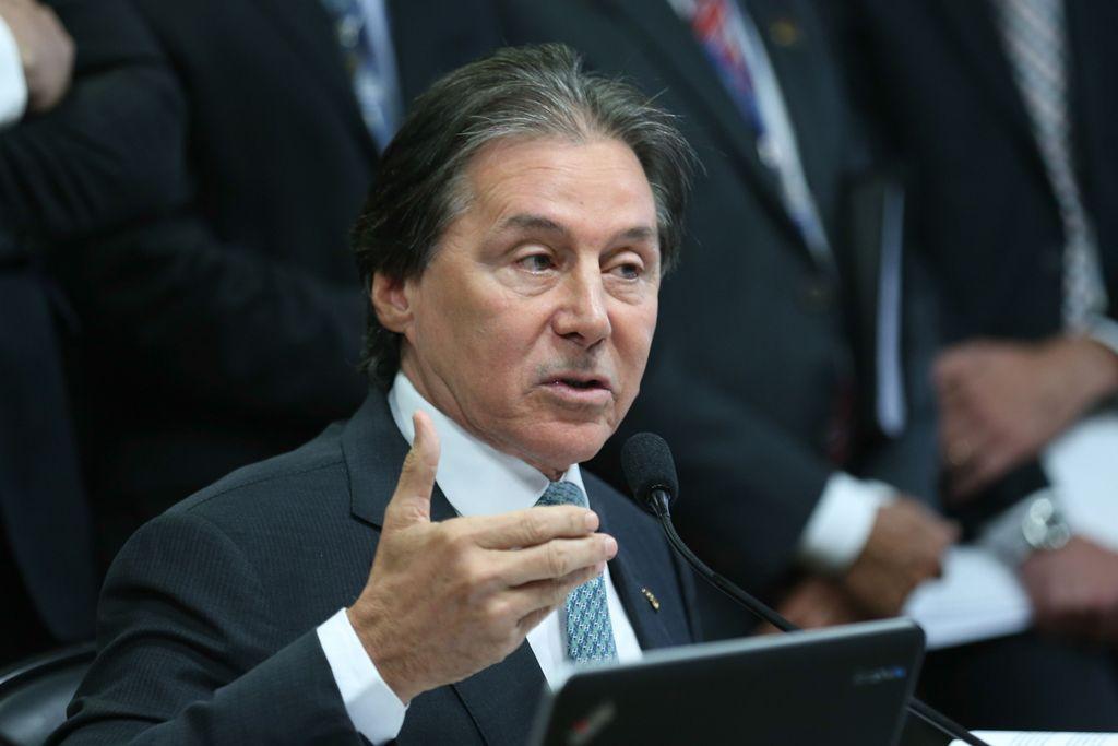 Eunício defendeu ainda a possibilidade de que o modelo seja aplicado já em 2018 / Fabio Rodrigues Pozzebom/Agência Brasil