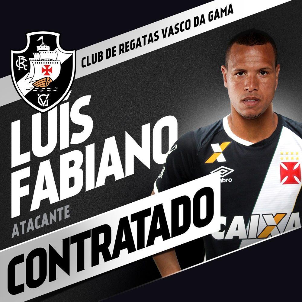 Luis Fabiano foi anunciado oficialmente pelo Vasco