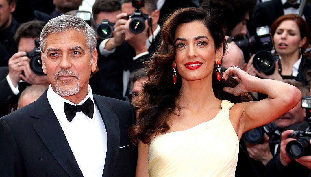 Avó revela sexo dos gêmeos de George e Amal Clooney