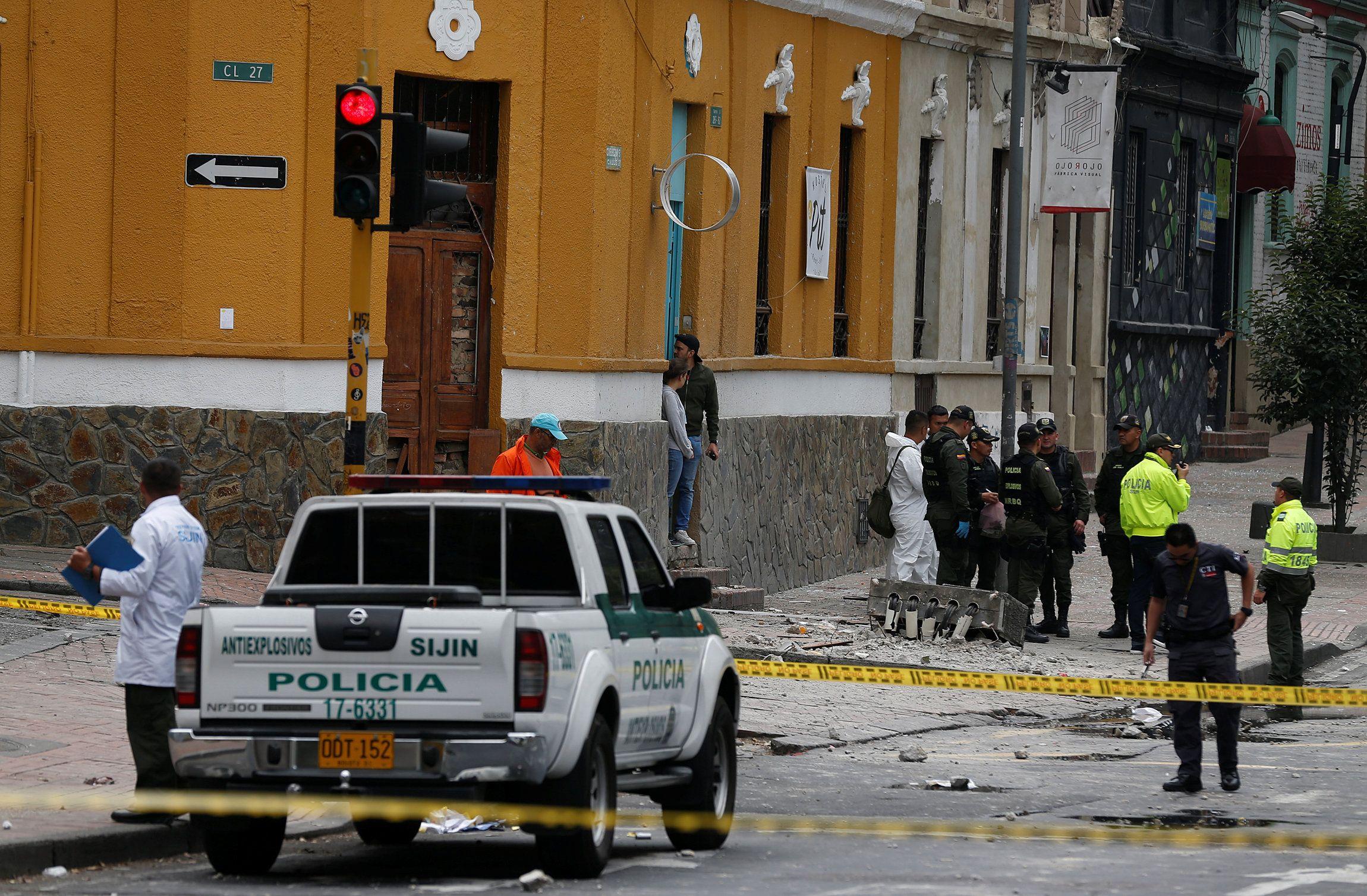 Explosão próxima a arena de touros fere 31 pessoas em Bogotá