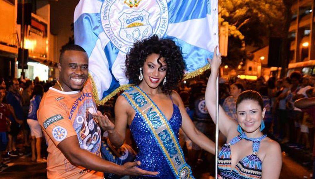 Miss Brasil é apresentada no Carnaval da Vila Isabel