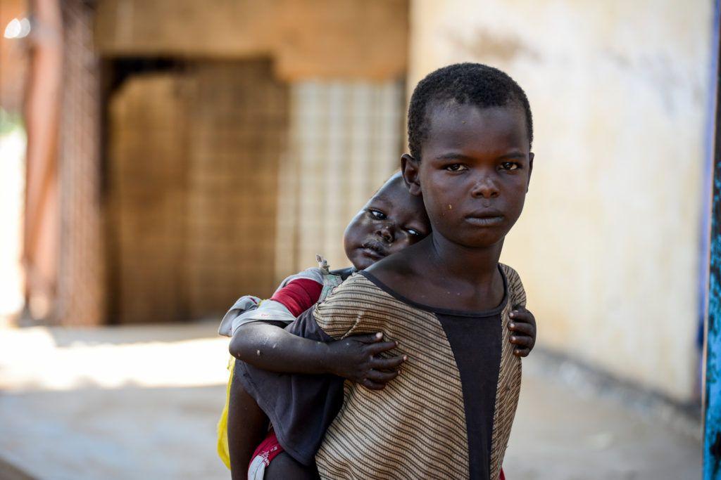 Quase 1,4 milhão de crianças estão em risco iminente de morte