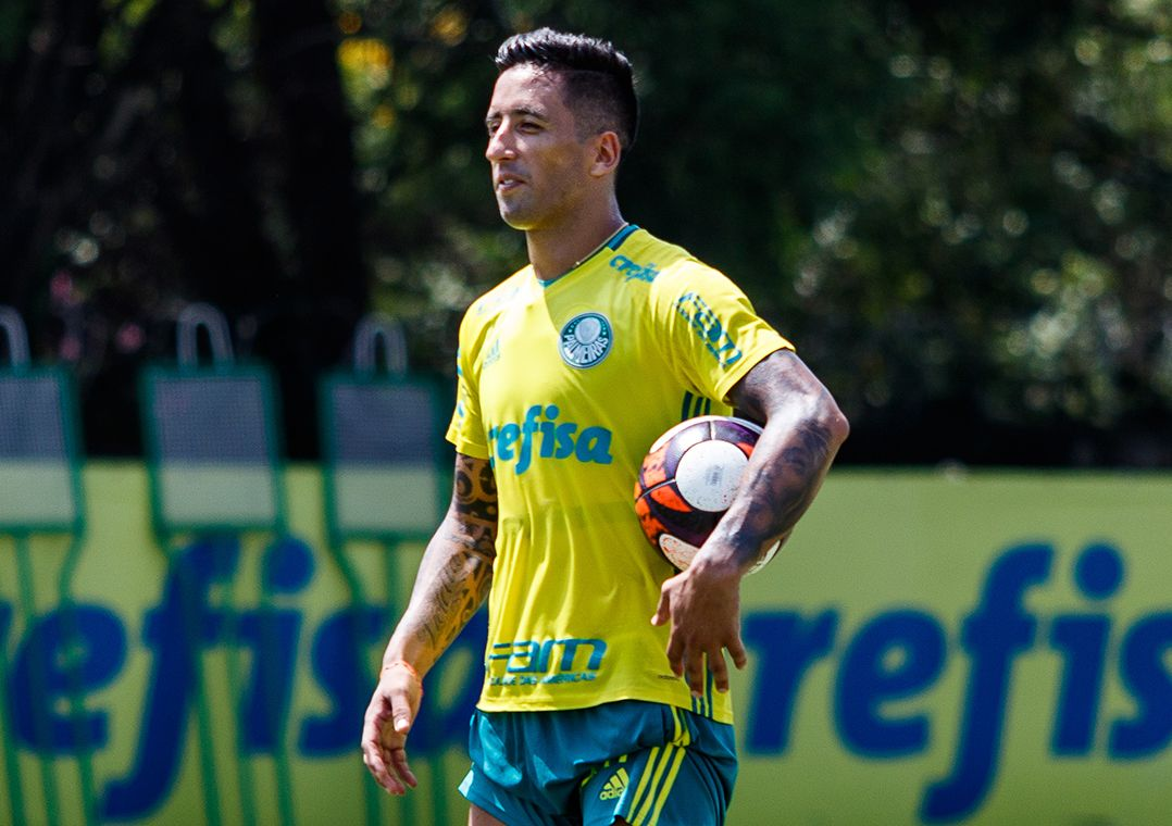 Palmeiras rompe contrato com Lucas Barrios