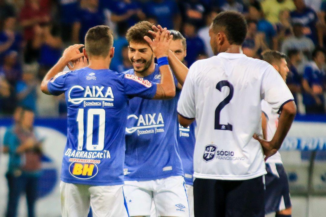 Cruzeiro faz 6, Inter e Sport goleiam e times avançam