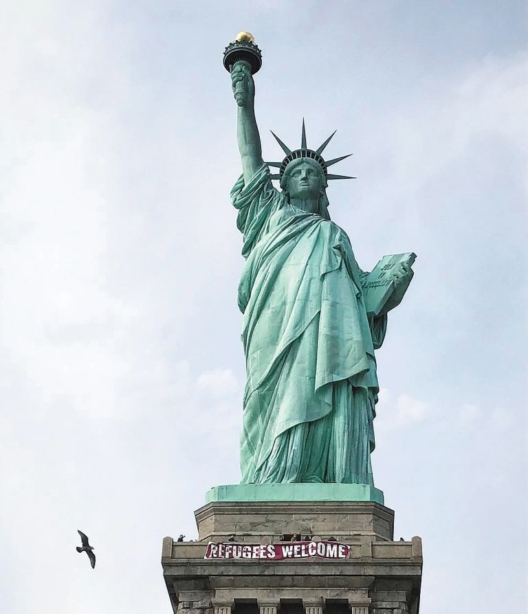 Foto tirada por brasileira da Estátua da Liberdade ganha o mundo
