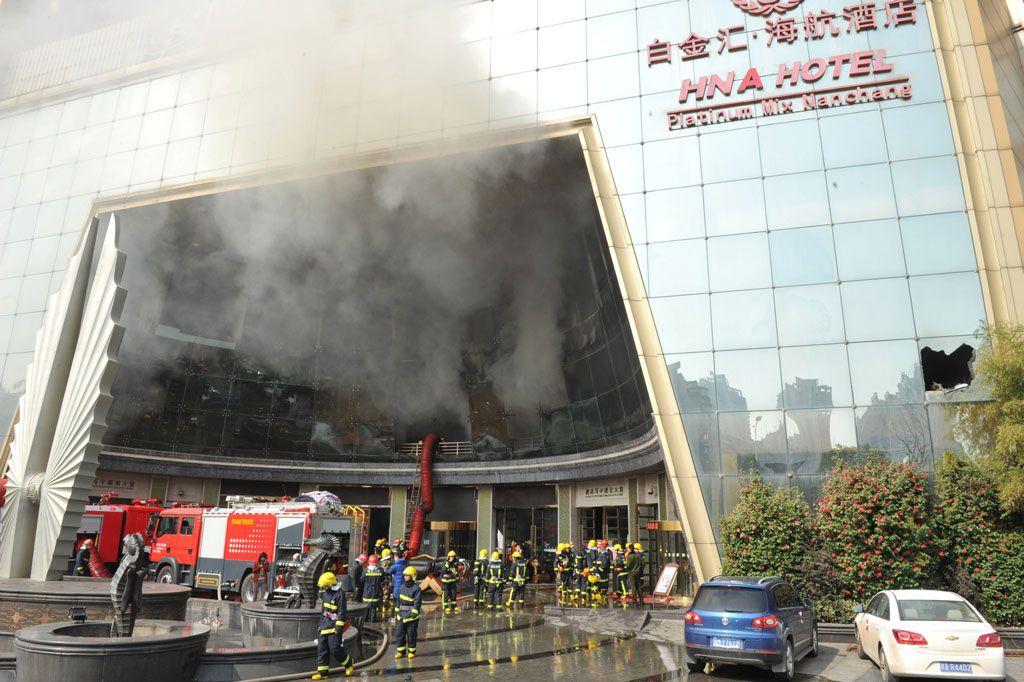 Incêndio em hotel de luxo na China deixa ao menos 10 mortos