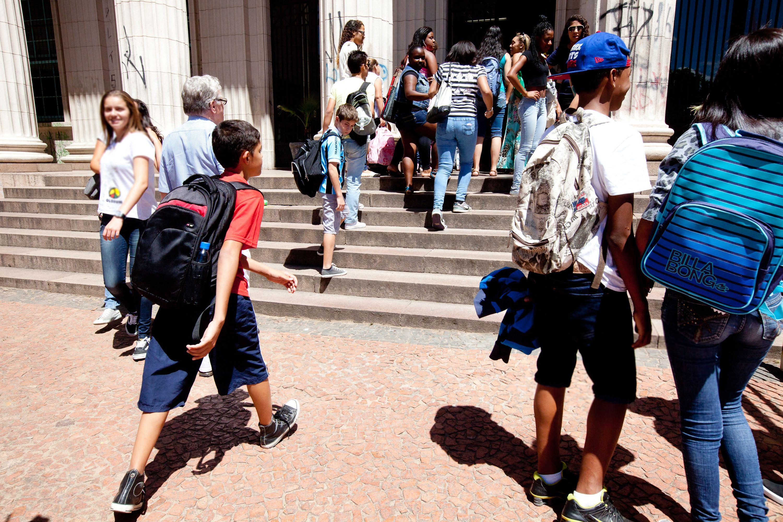 Os alunos da rede municipal voltam às aulas na próxima quarta-feira / Claudio Fachel/Palácio Piratini