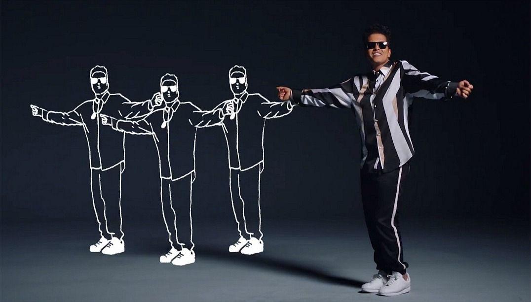 Bruno Mars lança novo clipe animado; veja