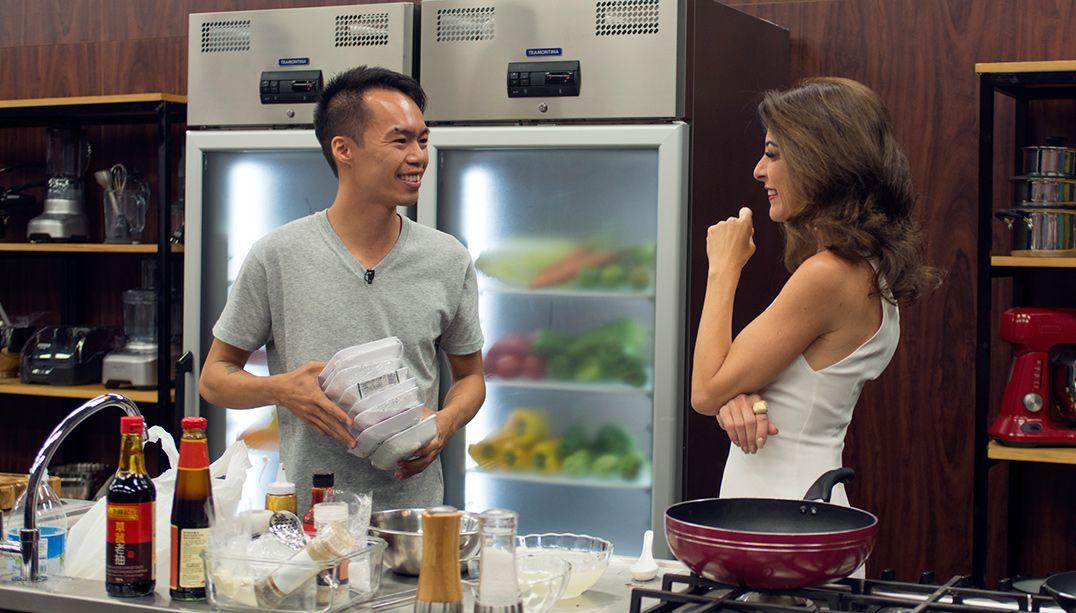 Abel Chang Lou ficou emocionado ao conversar com Ana Paula Padrão