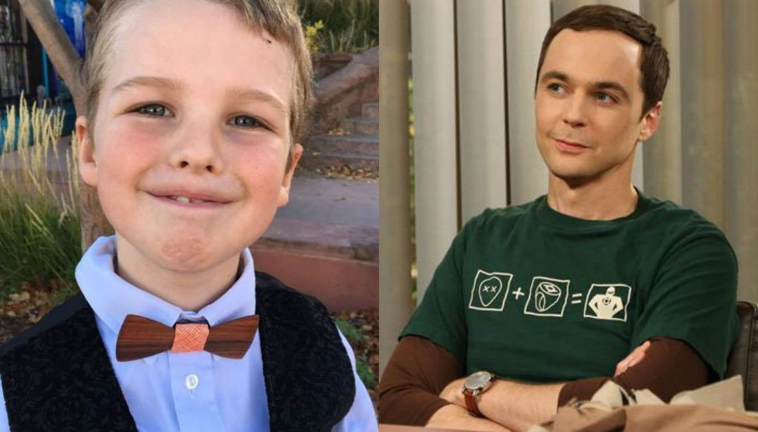 Ator mirim foi escolhido para interpretar Sheldon