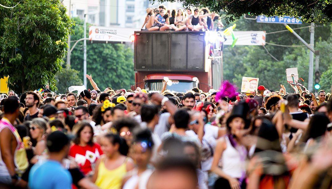 Mais de 80 blocos de Carnaval voltam às ruas neste fim de semana
