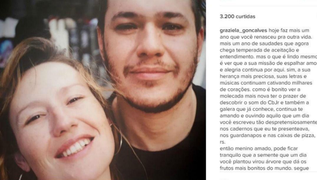 Ex-mulher de Chorão lembra morte do cantor - Notícias ... da98e3aacd503