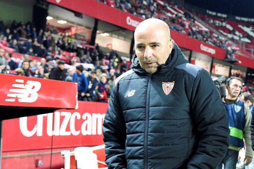 Sevilla faz grande temporada com o argentino Jorge Sampaoli no comando  (Foto  Divulgação Sevilla FC) 5fe94864a4193