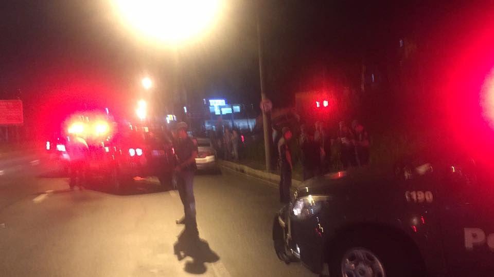 O criminoso transitava pela Av. Teotônio Vilela quando foi abordado por uma equipe do Baep. / Divulgação