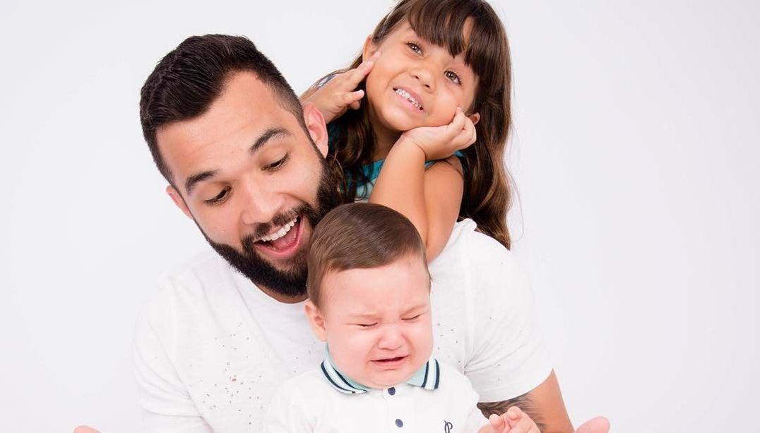 Jonathan Costa se declara aos filhos: Amo vocês