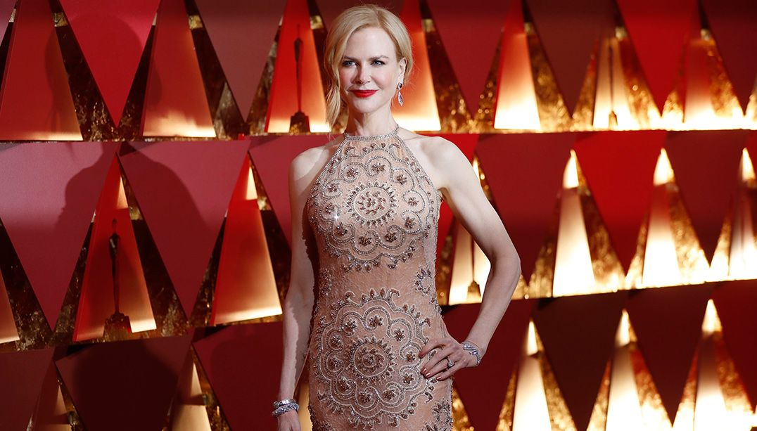 Nicole Kidman virou meme após aplauso no Oscar