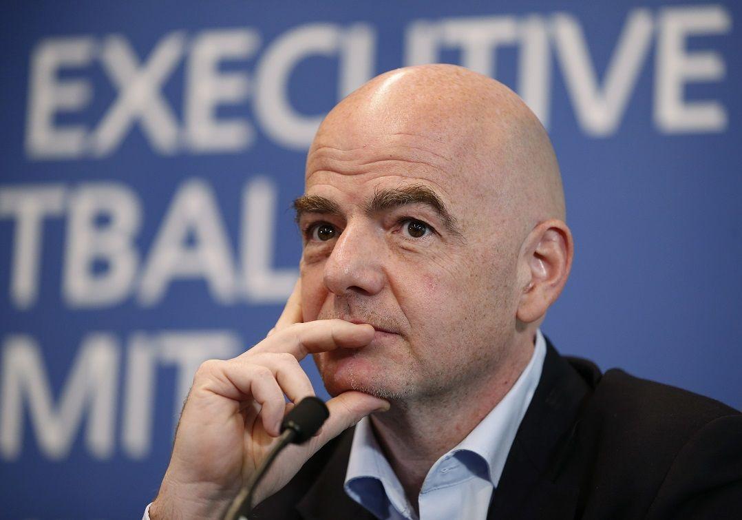 Presidente da Fifa, Gianni Infantino é alvo de investigação