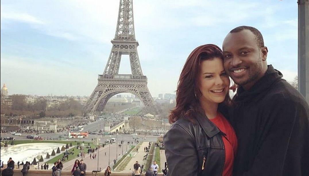 Fernanda Souza e Thiaguinho curtem viagem à França